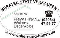 Heinz Wolters und Helmut Degenkolbe in Bürogemeinschaft