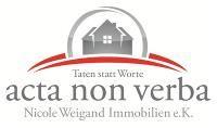acta non verba Nicole Weigand Immobilien e.K.